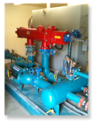 Flowtronex irrigation system using Amiad Filtration system